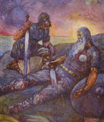 Beowulf_death
