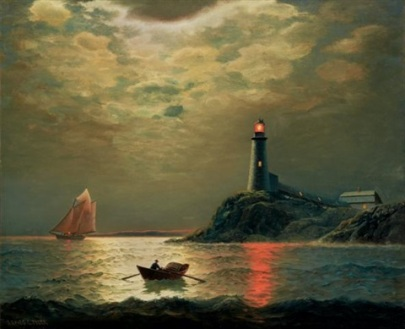 james-gale-tyler-sailboat-with-lighthouse-at-night